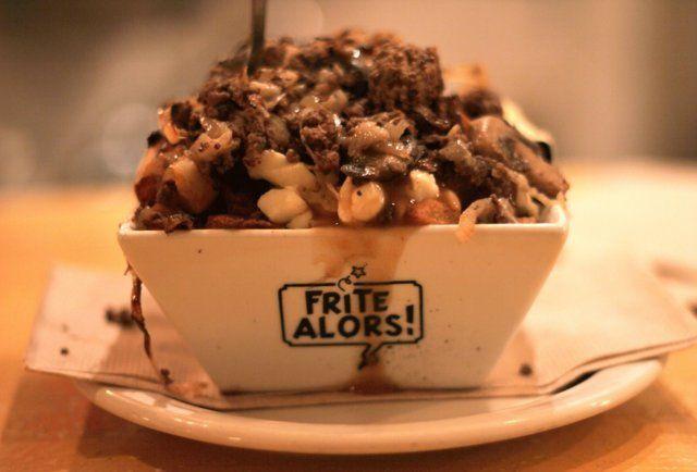 Frite Alors poutine Montreal -Montreal's top five poutine joints || Pinterest || @ShanBrockhurst