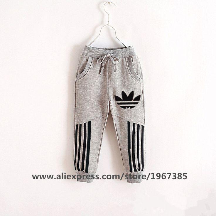 Los niños de la marca de ropa 2016 niños del resorte nuevos de moda los pantalones para niños y niñas pantalones deportivos pantalones infantil chicos ropa(China (Mainland))