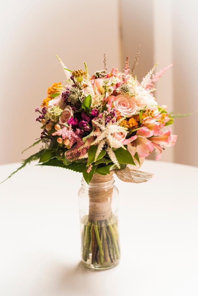 Ramo de novia tipo Bouquet. #bodas #ramosdenovia