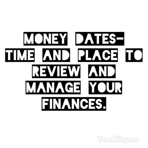 I have quick money dates every two weeks on payday that last around 15 minutes. My longer dates are on the first of each month, which usually last between 30 minutes to a...