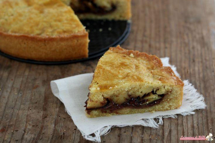 Torta+pasticciotto+con+crema+alle+nocciole