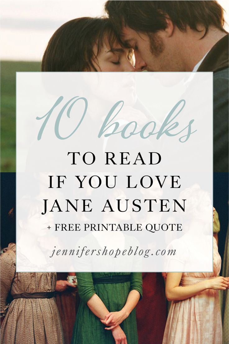 10 Books to Read if You Love Jane Austen! Can't wait to read all of these. Pride & Prejudice, Sense & Sensibility, Persuasion, Emma, Northanger Abbey, Mansfield Park, Keira Knightley, Matthew MacFadyen, Jane Eyre, Charlotte Bronte, Sarah M Eden, Julie Klassen, Josi Kilpack, Julianne Donaldson, Edenbrooke, books like Jane Austen, authors like Jane Austen, books like pride and prejudice