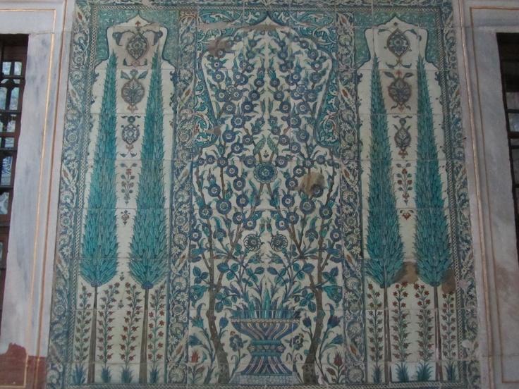 ISTANBUL- Harem ceramiche di Iznik