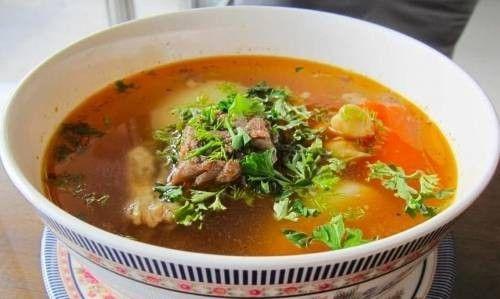 Суп-шурпа на костре – рецепт с фото