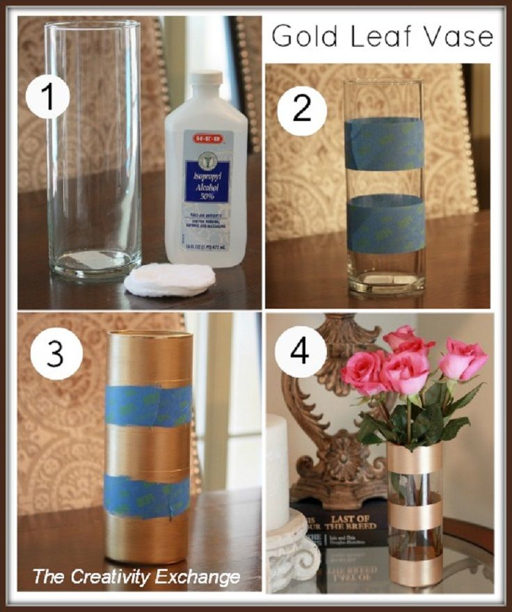 Top 10 diy home decorations for fall flowers vase home and diy home Diy home decor flower vase