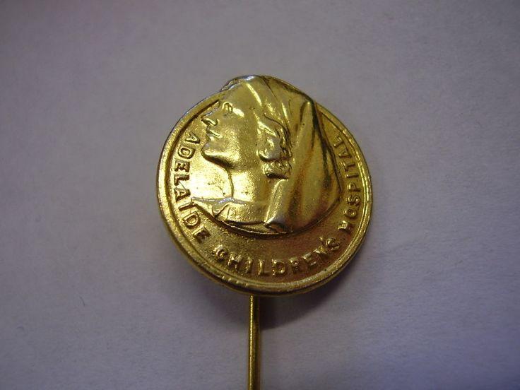 Vintage+Adelaide+Childrens+Hospital++Nurse+Appeal+Badge+Pin+2