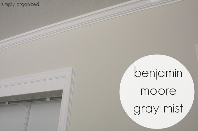 Benjamin Moore Gray Mist Although This Color Is Called