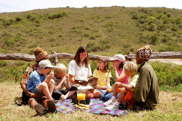Mark's Camp at Lalibela Game Reserve offers a children's programme