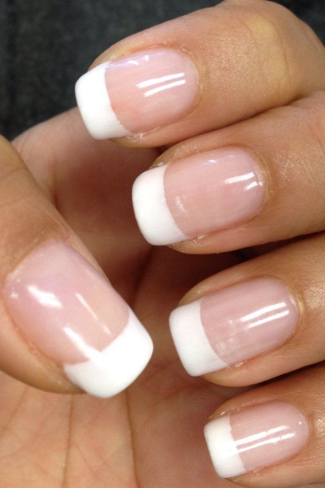 French Tip Nails: Best 10+ French Tip Nails Ideas On Pinterest