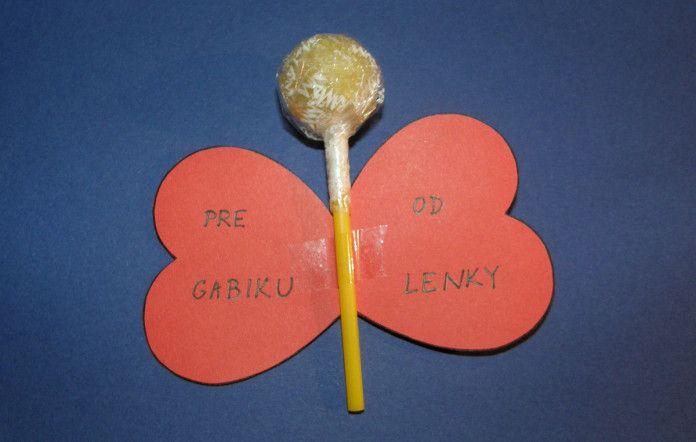 Valentínska lízanka - Aktivity pre deti, pracovné listy, online testy a iné