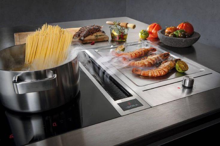 開放式廚房不怕油煙 德國 BORA 廚下式抽油煙機 | 大人物