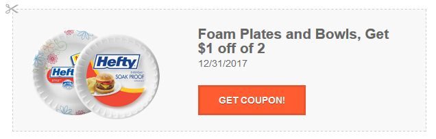 Current Hefty Coupons: $4 in Savings on Trash Bags, Cups, Plates & Slider Bags