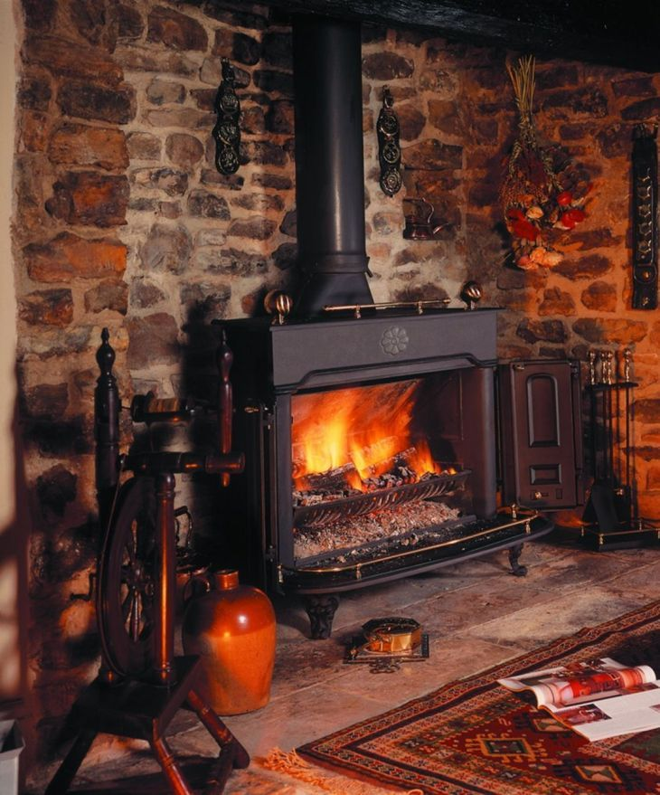 25 Amazing Rustic Fireplace Design Ideas For Cozy Winter