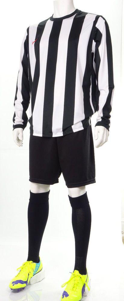 15 x Nike Mens Football Team Kits 'Juve' Style Black & White Stripes (XL)