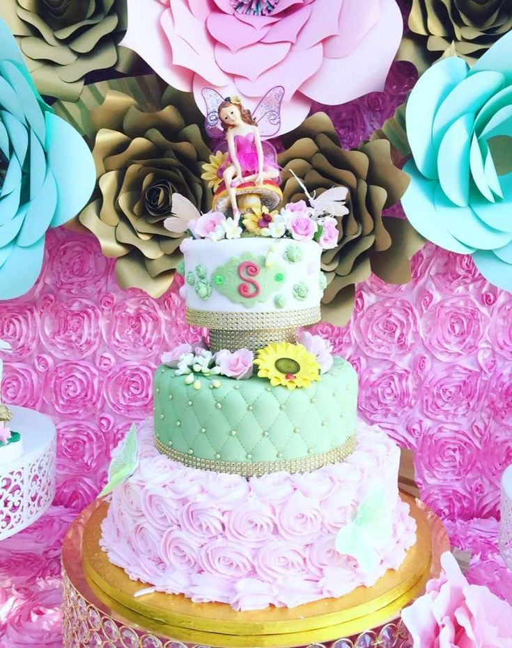 fairy talegarden tea party birthday party ideas