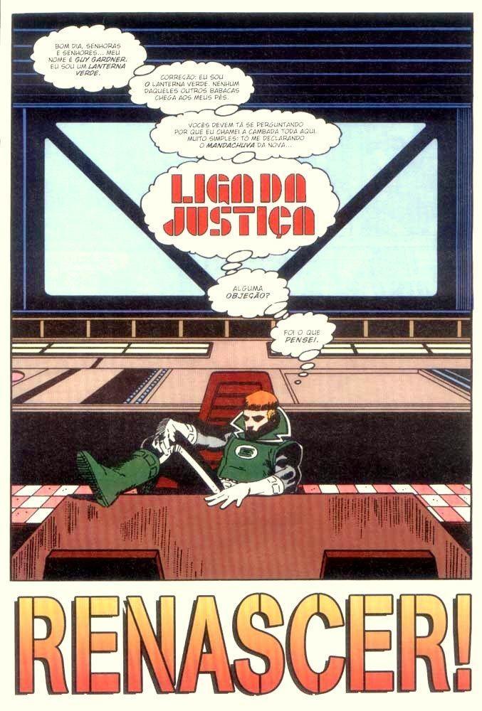 HQBR - Liga da Justiça (1987) - Capitulo #1