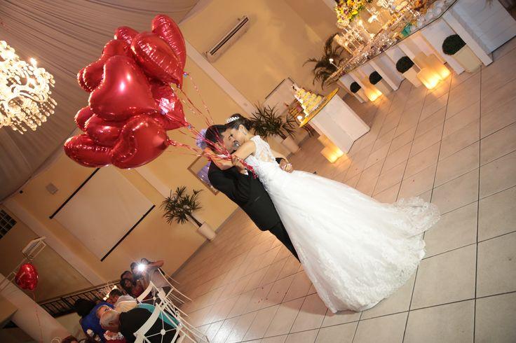 Balões para dança dos Noivos