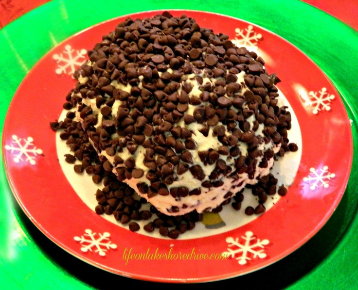 Chocolate Chip Cheese Ball | Sweets | Pinterest