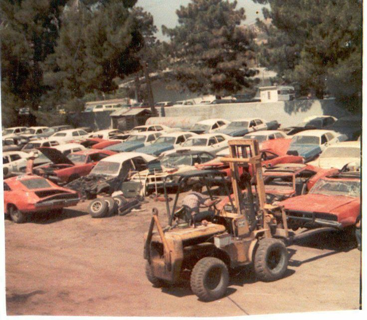 Dukes Of Hazzard Junk Yard Where All The Spent Cars Went