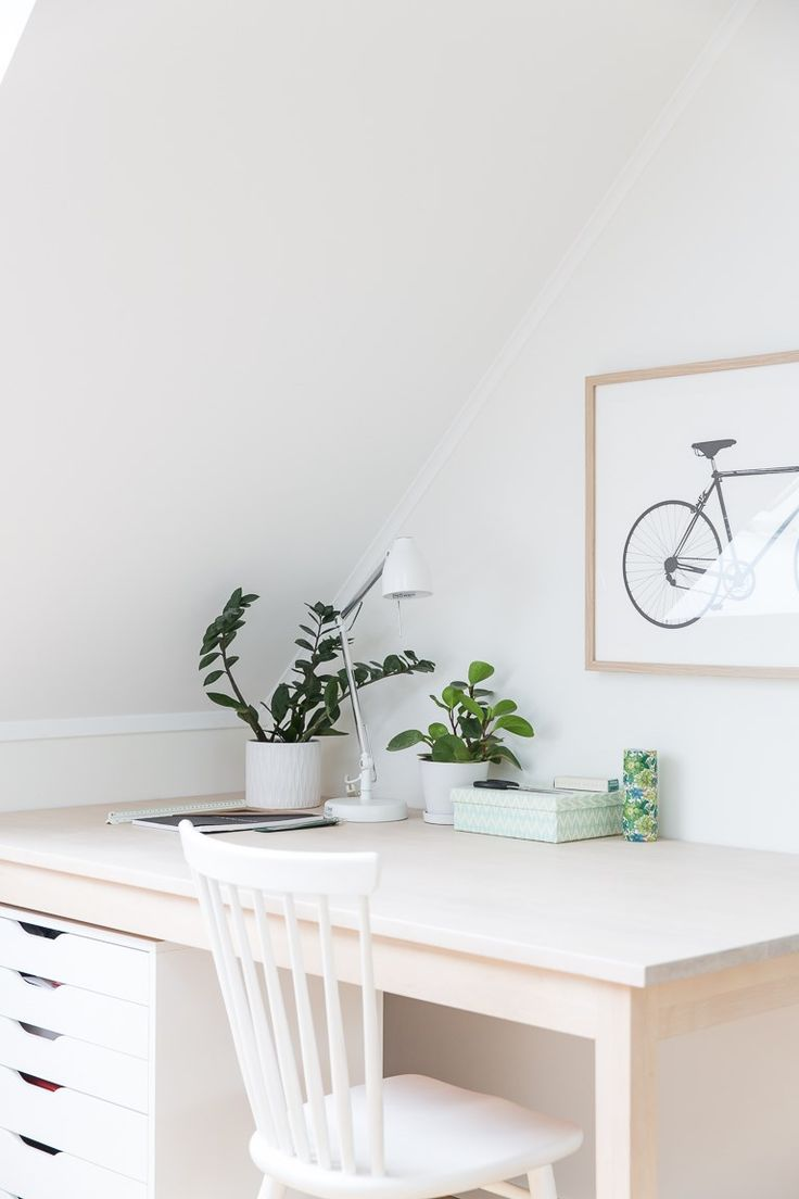 Cykelposter, arbetsplats, norrgavelbord Bas, norrgavel