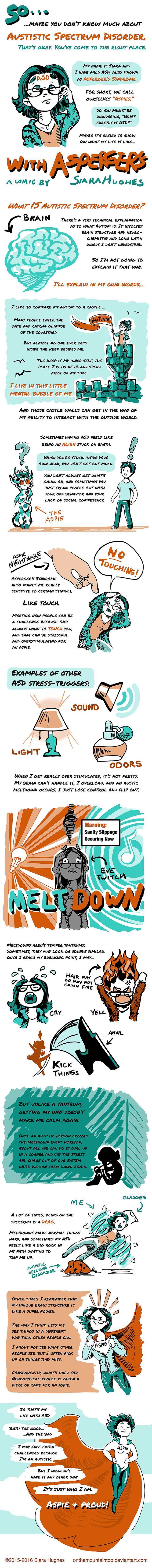 My Life with Asperger's by http://OnTheMountainTop.deviantart.com on @DeviantArt