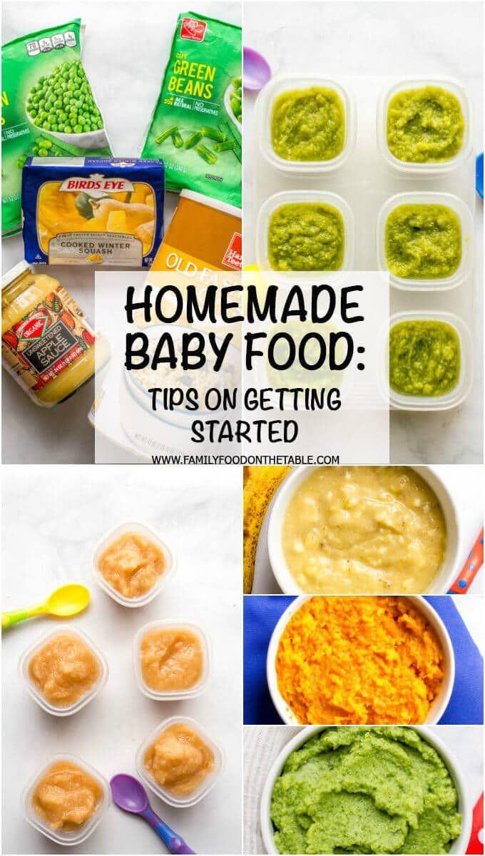 Hausgemachte Babynahrung   – ⭕ Baby   Pregnancy   Parenting ⭕