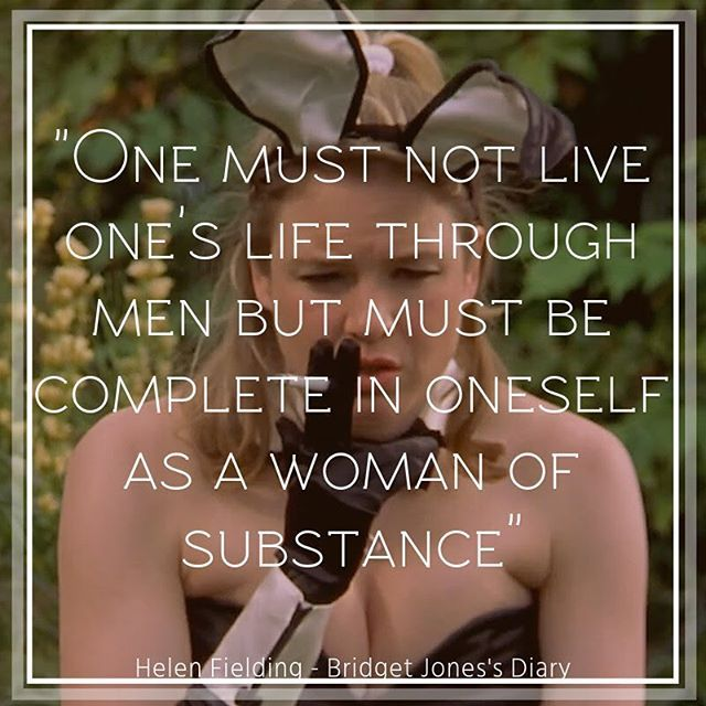 Great wisdom from Bridget Jones. #quotes #quotestagram #book #books #read #reader #reading #word #words #quotations #inspirationalquotes #inspirationalquote   #booknerd #booknerds #literature #bridgetjones #bridgetjonesbaby