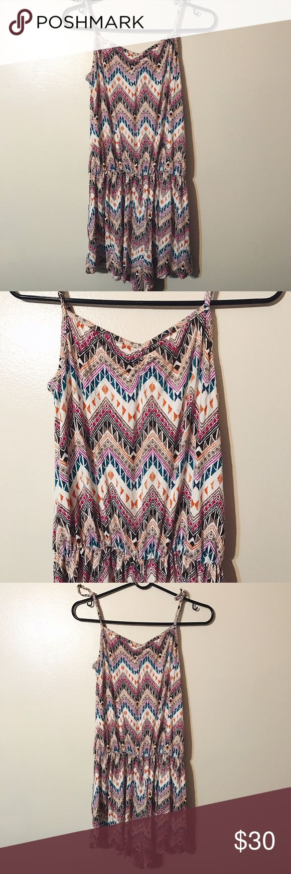 Sexy Rachel Pally Aztec Romper! Perfect romper for your tropical getaway! 🌴 The straps are long so had to tie on the photos. :) Rachel Pally Other