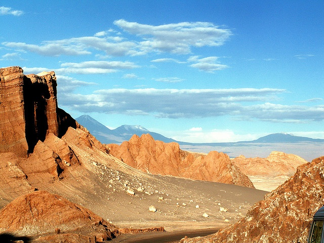 San Pedro de Atacama. Valle de la Luna.  Chile  AT THE DRYEST DESERT IN THE WORLD!!!