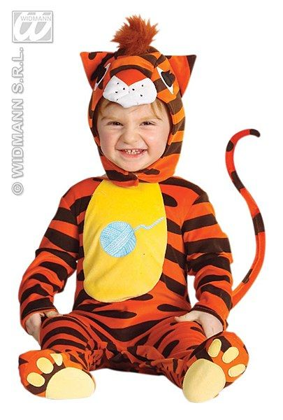 Baby Cat Costume  Your little tiger will be the fiercest and the cutest in all of the neighborhood.