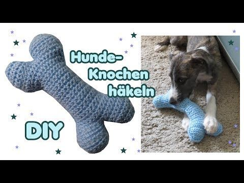 YouTube, Knochen als Spielzeug für den Hund häkeln! 😃 Crochet Bone. – Kostenlose Häkel-Anleitungen