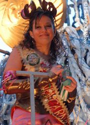 Queen of the Carnival. © Michelle Chaplow