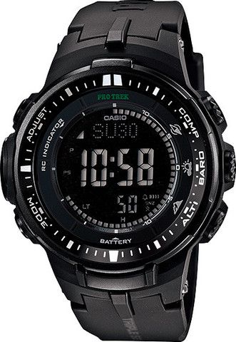 Mens #Casio #ProTrek Triple Sensor Ver. 3 #Watch // PRW-3000-1A