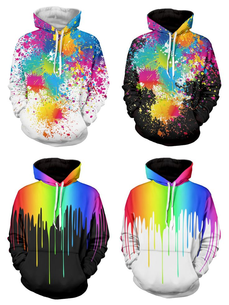 Colorful Men Hoodies for Easter