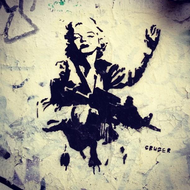 Soldier Monroe - Street Art