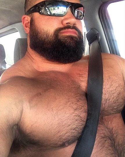 burly hairy men