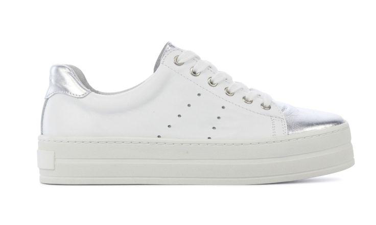 gevonden Cashott Sneakers Dames (Wit)