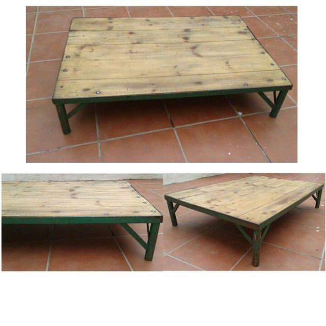 7vides vintage bonita mesa de centro de for Mesas de centro bonitas