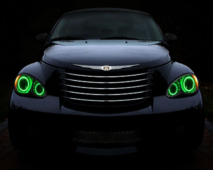 17 best ideas about chrysler pt cruiser pt cruise 2006 2010 chrysler pt cruiser color changing led halo headlights made by