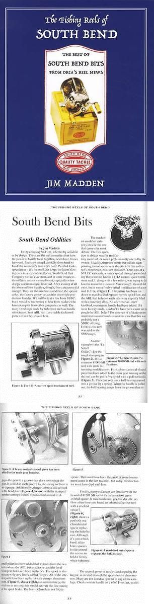 Books and Video 62155: Fishing Reels Of South Bend Collector Reference Best Of Columns Orca Reel News -> BUY IT NOW ONLY: $34.94 on eBay!