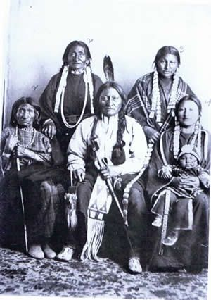 May 5, 1877 Sitting Bull leads his people into Canada nearly 1 year after the battle at Little Big Horn.