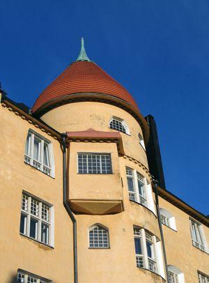 Art Nouveau building, Helsinki Finland.