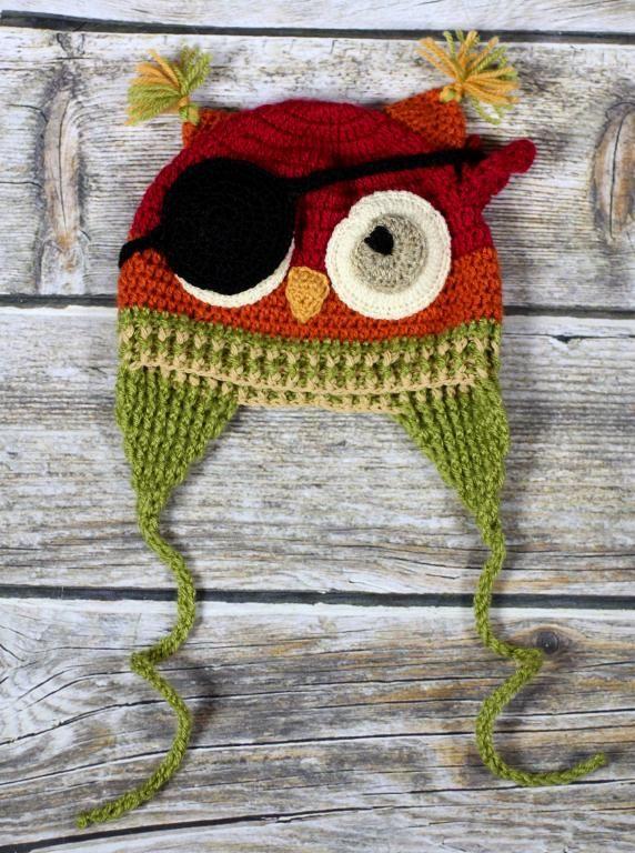 szydełkowa czapka do sesji foto i na dwór