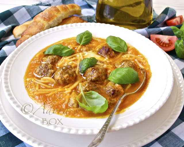 Meatball And Spaghetti Soup Recipes — Dishmaps