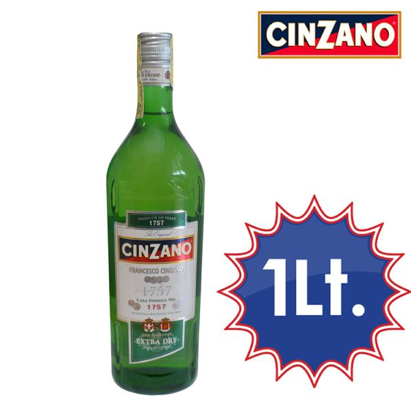 Liscio o con ghiaccio, una base perfetta per cocktails secchi. Bottiglia lt.1 a soli € 2,59!!