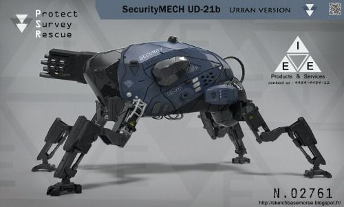 spartanmpco:  SecurityMECH UD-21b by LMorse