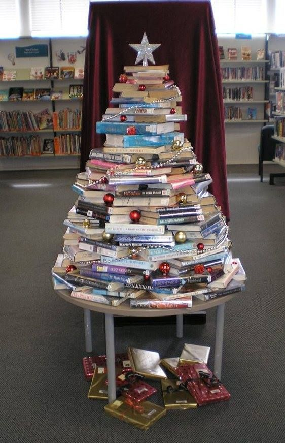 Christmas tree from one of the Hutt City Libraries in Naenae, Lower Hutt, New Zealand