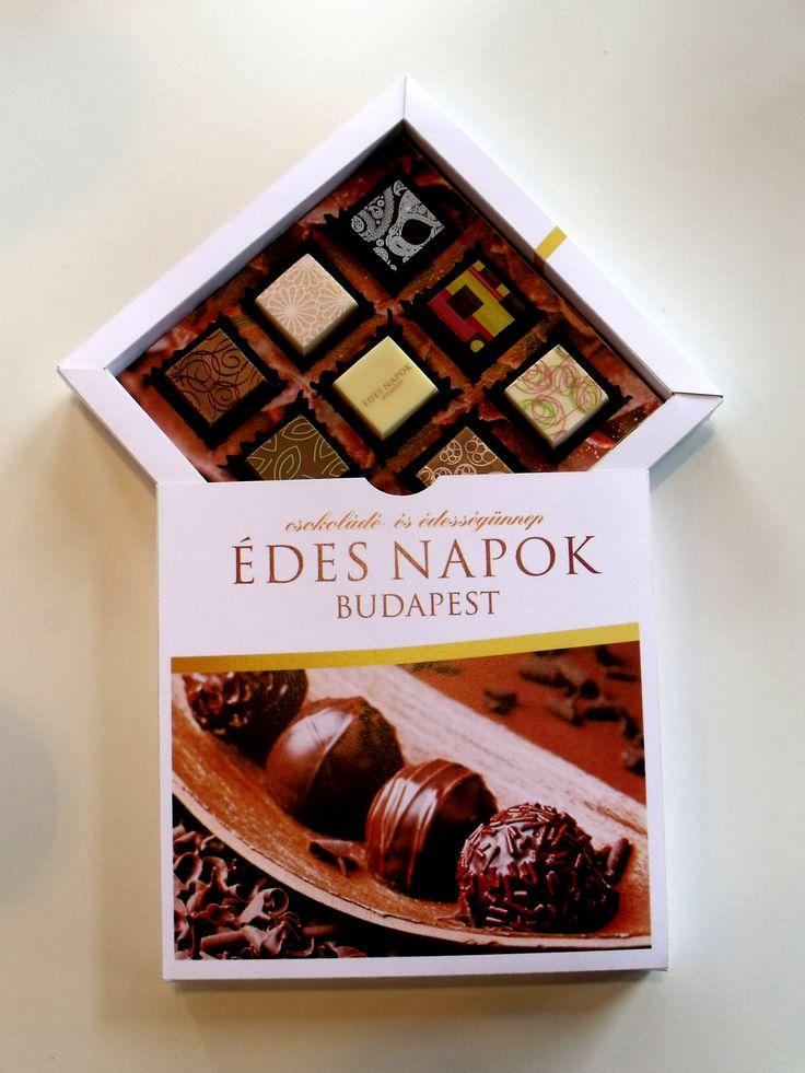Édes Napok Budapest 2014  custom chocolate box