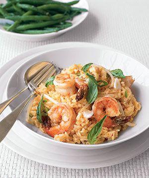 Chili Shrimp and Coconut Risotto | Recipe