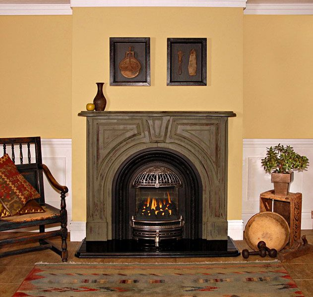 Pictures Of Old Fireplace Mantels Used Around Cast Iron Stove Fires Of Tradition Mantels For